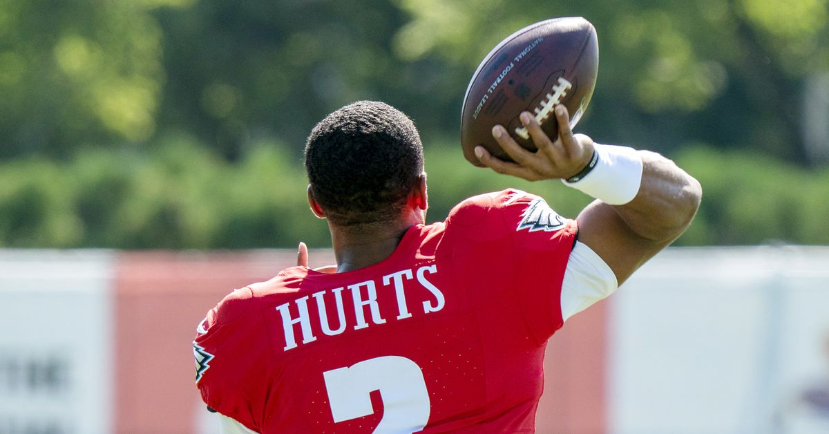 Jalen Hurts is now the No. 2 quarterback: Eagles vs. Rams inactives