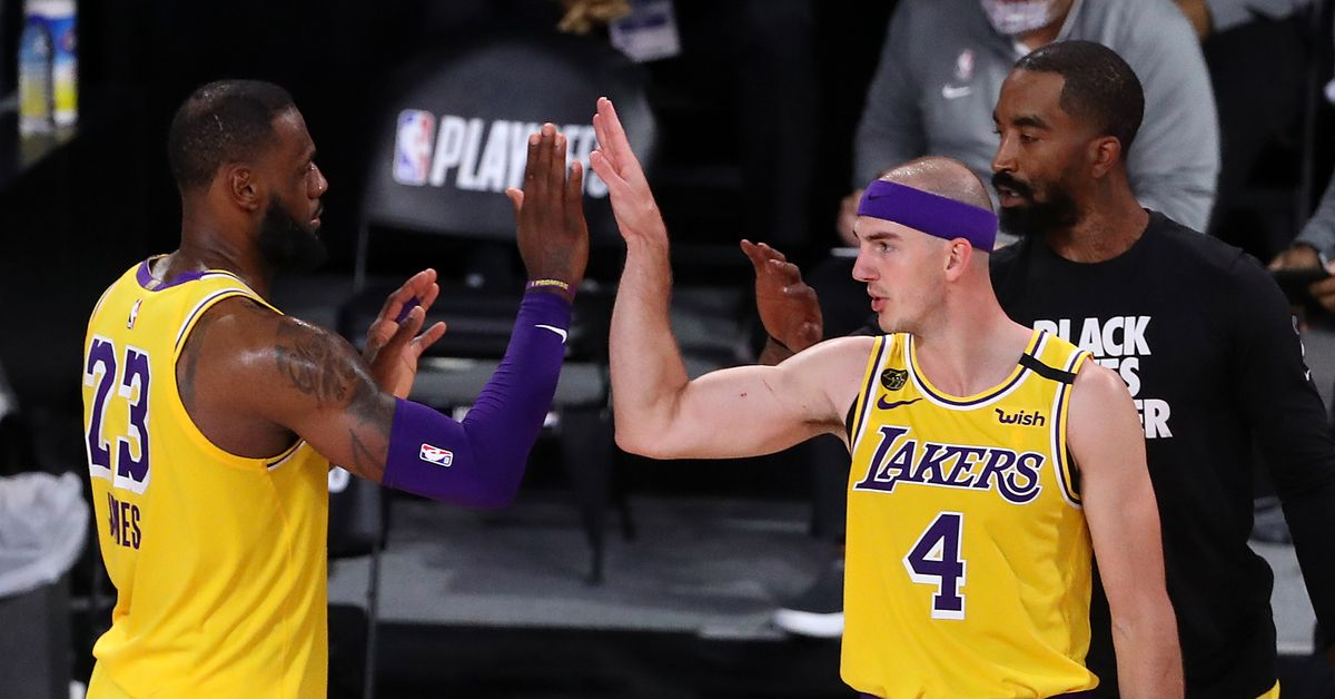 Alex Caruso: LeBron didn't know who I was when he signed with Lakers