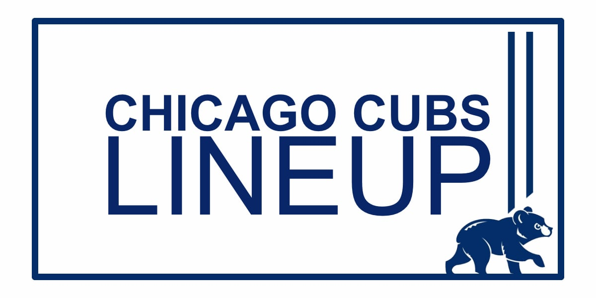 Chicago Cubs Lineup: Trade Deadline Acquisition Jose Martinez Returns to DH