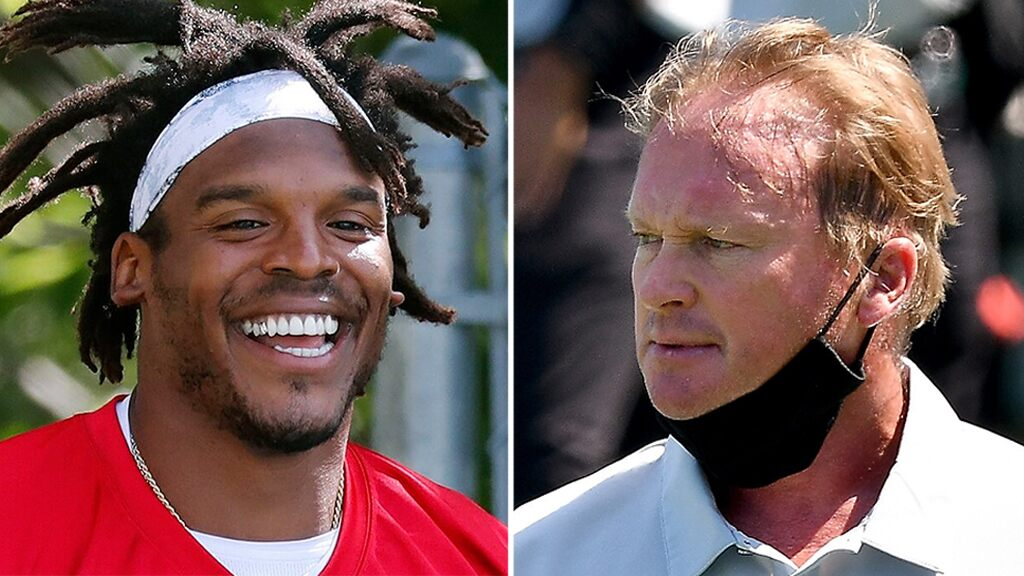 Raiders' Jon Gruden gives Patriots QB Cam Newton nickname ahead of Week 3 matchup