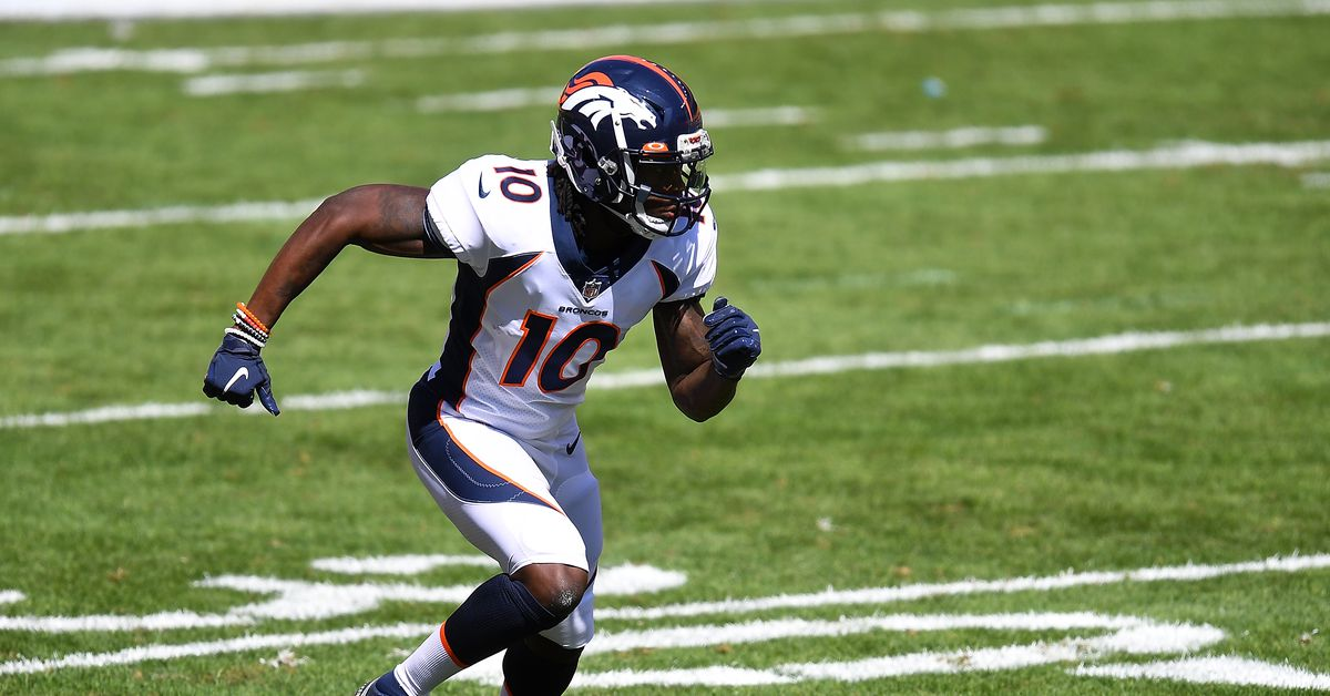 Broncos and Buccaneers injury report: Jerry Jeudy limited