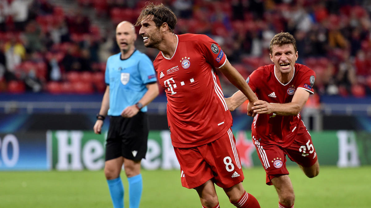 Bayern Munich vs. Sevilla score: Javi Martinez nets UEFA Super Cup winning goal in extra time for Bavarians
