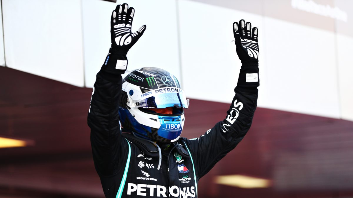 Bottas eases to Sochi win over Verstappen as penalty leaves Hamilton P3