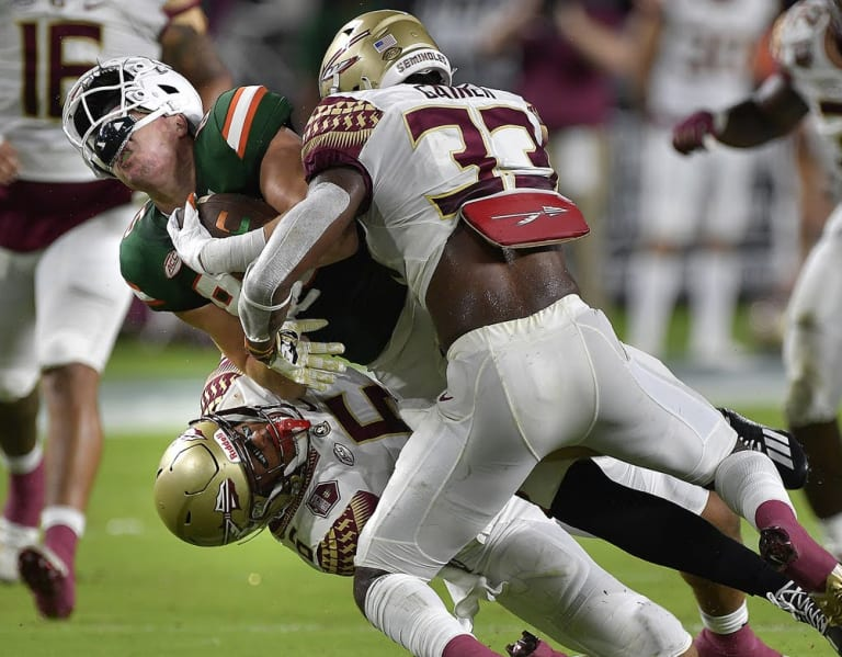 There were a lot of failing grades for FSU in the humiliating loss to rival Miami. Here's a rundown from PFF
