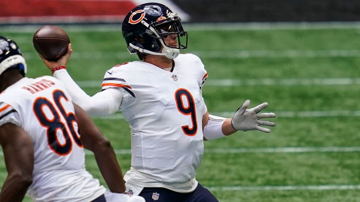 Nick Foles new Chicago Bears starter at QB; Tarik Cohen has torn ACL
