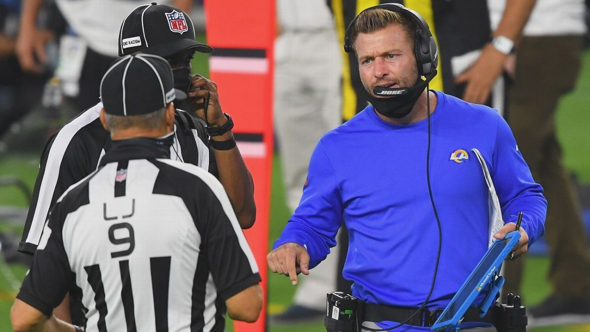 NFL issues strong warning to coaches who won't wear masks on sideline
