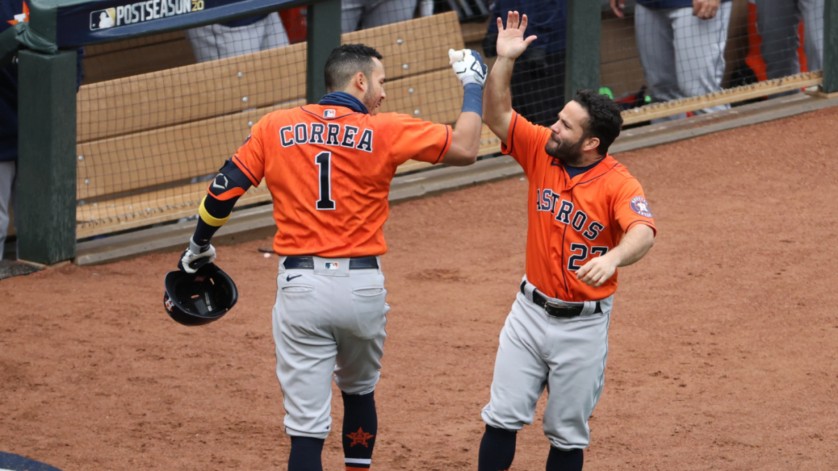 MLB playoffs schedule, scores: Astros knock out Twins; A's force decisive Game 3 vs. White Sox